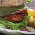 hamburguesa vegana bio jackfruit