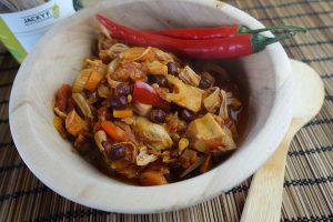 Chili sin carne con Jackfruit