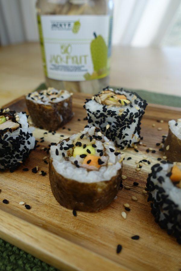 sushi jackfruit
