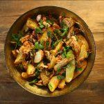 Ensalada vegana de patata y Bio Jackfruit
