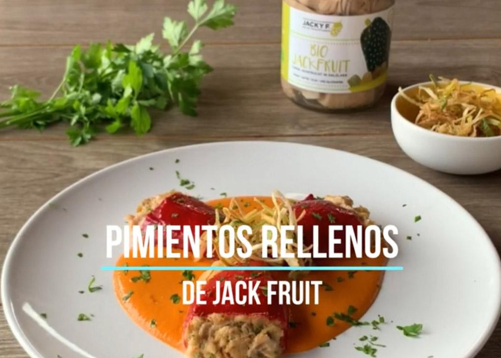 Pimientos del piquillo con Bio Jackfruit