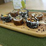 sushi con bio jackfruit