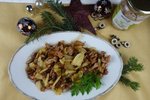 Hinojo con Jackfruit marinada al estilo hindú