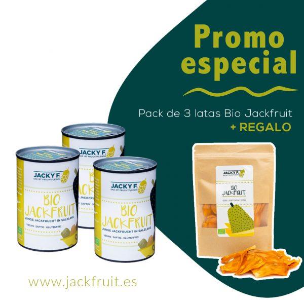 3 latas jackfruit más jackfruit dulce