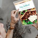 razones para tener ebook de cocina easy jackfruit