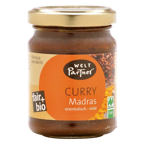 Curry Madras ecológico