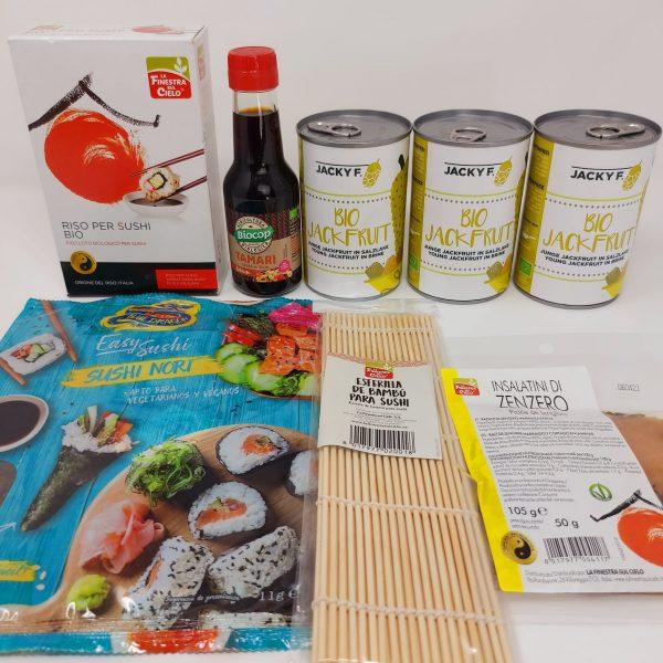 Set Jackfruit & Sushi Vegan
