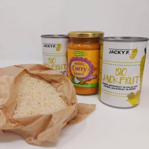 Set Jackfruit curry rápido